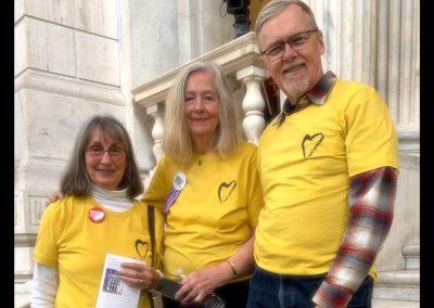 Interfaith Vigil to End Poverty, RI State House